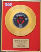 "RICKY NELSON  - 24 Carat Gold 7"" Disc - STOOD UP"